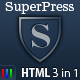 SuperPress Theme, Business+Portfolio+Magazine HTML - ThemeForest Item for Sale