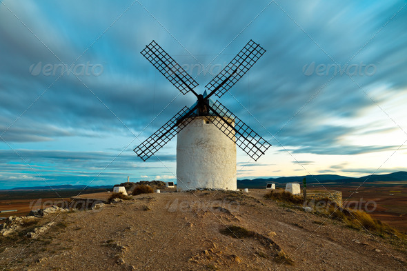 Windmills - Stock Photo - Images