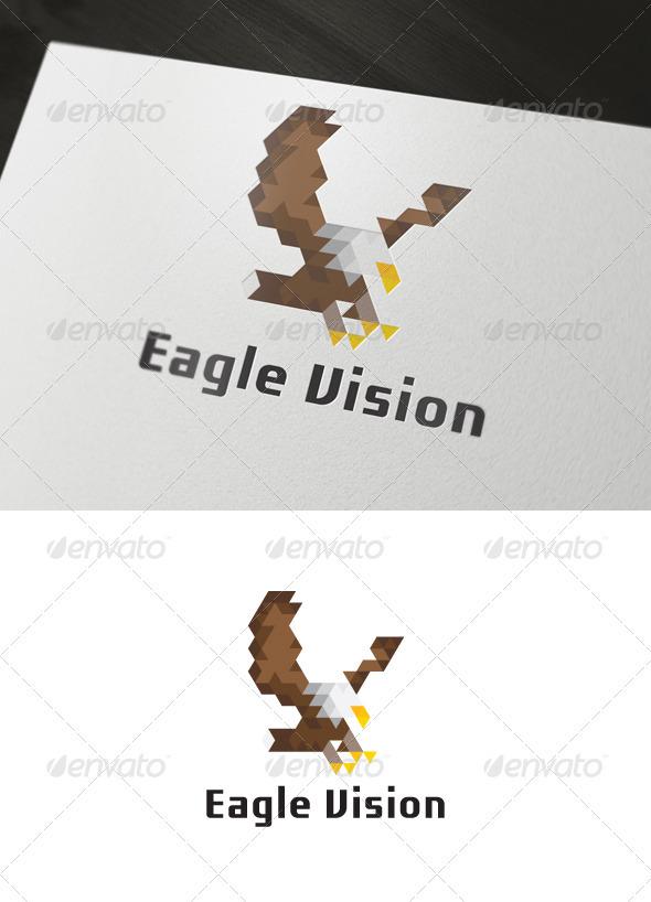 Eagle Vision Logo - Animals Logo Templates