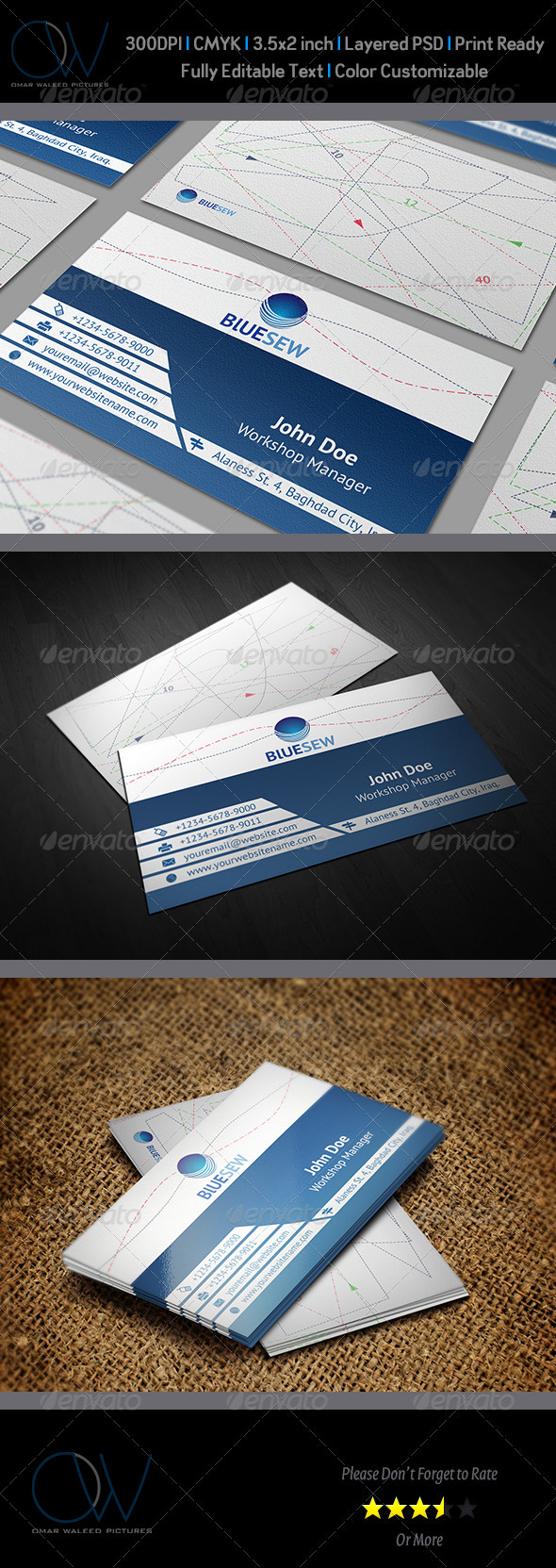 Sew Shop Business Card - Corporate Business Cards