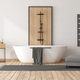 Minimalist bathroom with bathtub and shower - PhotoDune Item for Sale