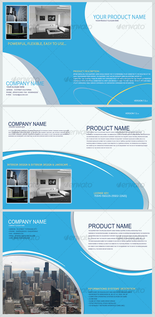 Product Show Brochure  - Corporate Flyers