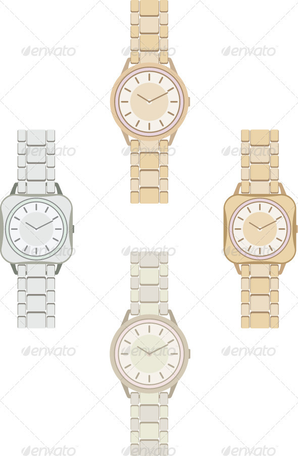 Wristwatch - Conceptual Vectors