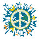 Hippie Peace Symbol - GraphicRiver Item for Sale