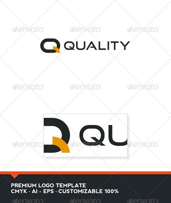 Quality - Letter Q Logo Template - Letters Logo Templates