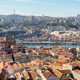 View from Clerigos Tower in downtown Porto city - PhotoDune Item for Sale