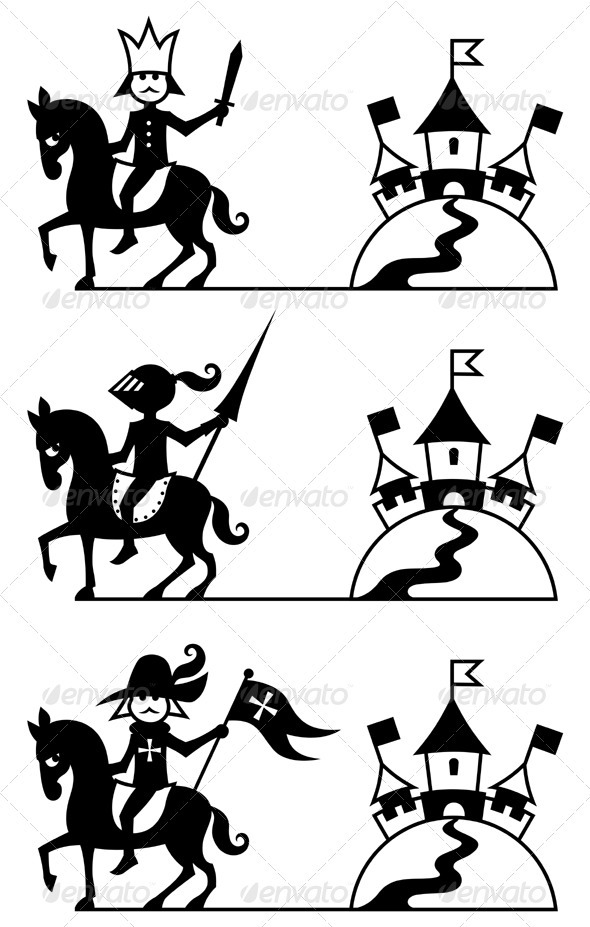 Riders - Characters Vectors