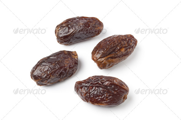 Whole dried dates - Stock Photo - Images