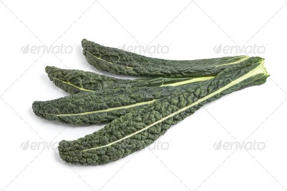 Fresh Cavolo Nero leaves - Stock Photo - Images