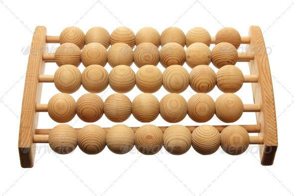 Wooden Feet Massager - Stock Photo - Images