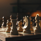 Chess pieces arranged on the chessboard - PhotoDune Item for Sale