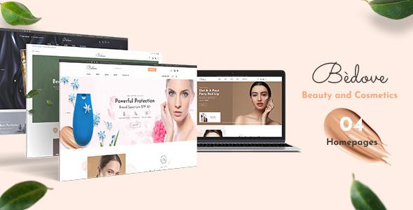 Bedove - Beauty & Cosmetics Shop WordPress Theme