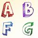 Alphabet Sketch - GraphicRiver Item for Sale
