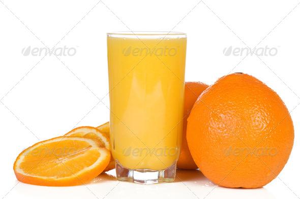 isolated yellow orange - Stock Photo - Images