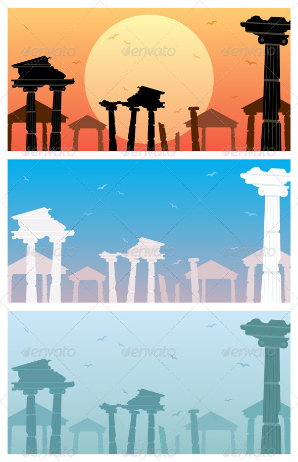 Ruins - Backgrounds Decorative