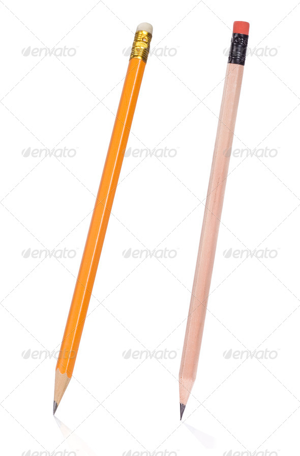 isolated pencil - Stock Photo - Images