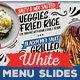 Rustic White Menu Slideshow - VideoHive Item for Sale