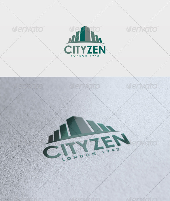 Cityzen Logo - Buildings Logo Templates