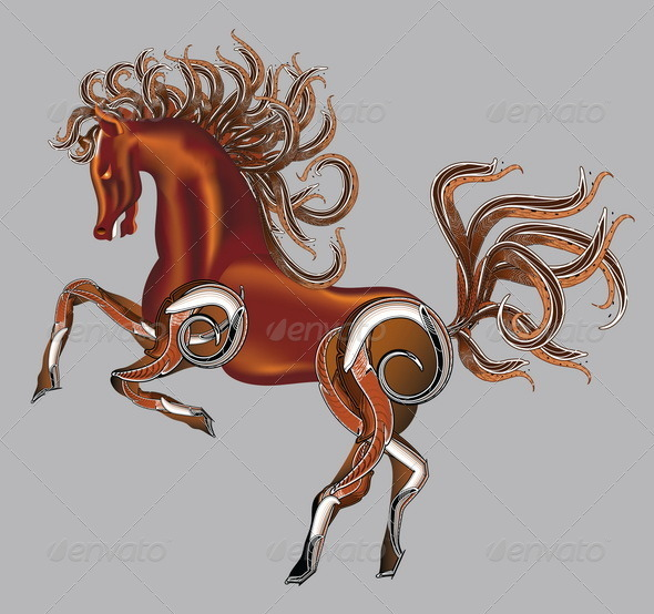 Horse Fantasy Vector - Animals Characters
