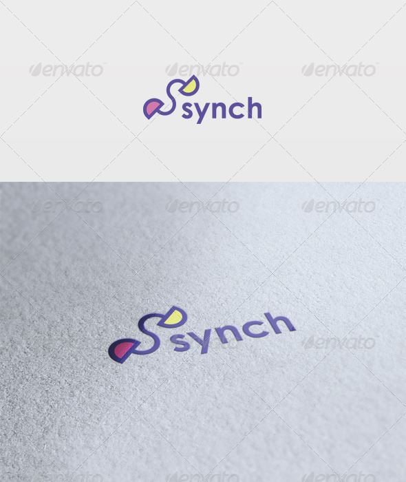 Synch Logo - Letters Logo Templates