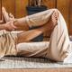 Lazy Yoga - Thai Massage Lower Body Hip and Leg Passive Stretching - PhotoDune Item for Sale