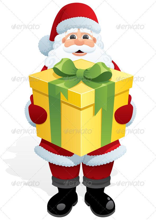 Santa Gift - Christmas Seasons/Holidays