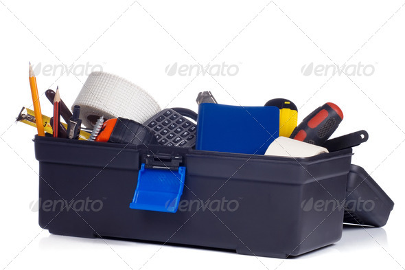 kit of tools - Stock Photo - Images