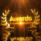 Gold Luxury Award Logo Reveal - VideoHive Item for Sale