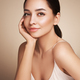 Portrait beautiful young woman with clean fresh skin - PhotoDune Item for Sale