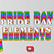 Pride Day Elements - VideoHive Item for Sale