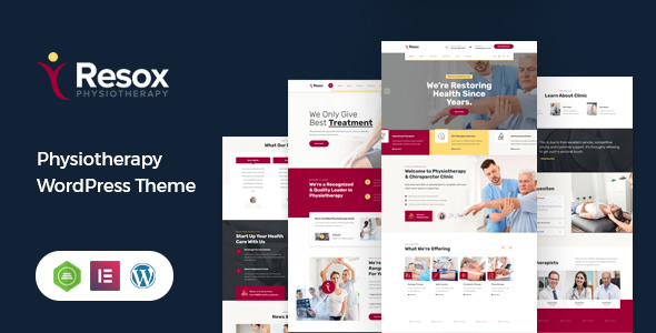 Incredible Resox - Physiotherapy WordPress Theme