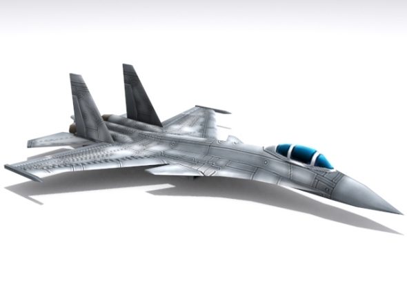 Su-35 Super Flanker - 3DOcean Item for Sale