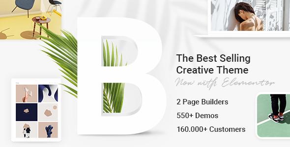 Bridge - Creative Multipurpose WordPress Theme Nulled
