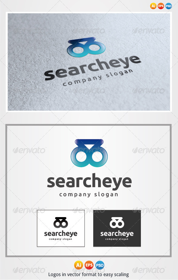 Search Eye Logo - Symbols Logo Templates