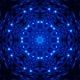 Glittering Blue Light Wave Background Loop 4K - VideoHive Item for Sale