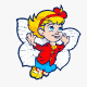 Flying Girl - GraphicRiver Item for Sale