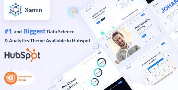 Xamin   Data Science & Technology HubSpot Theme