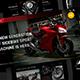 Sidebike - Motorcycle & Rental Google Slide Presentation Template