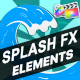 Splash FX Elements And Titles | FCPX - VideoHive Item for Sale
