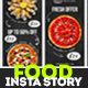 Food Delivery - Instagram Story - VideoHive Item for Sale