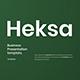 Heksa – Business PowerPoint Template