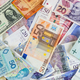 Different currencies banknotes background - PhotoDune Item for Sale