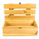 Open wooden crate on white background - PhotoDune Item for Sale