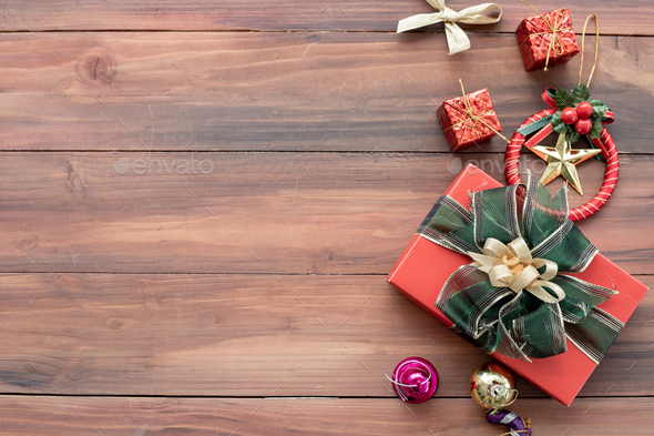 Accessories of Christmas and new year. - Stock Photo - Images