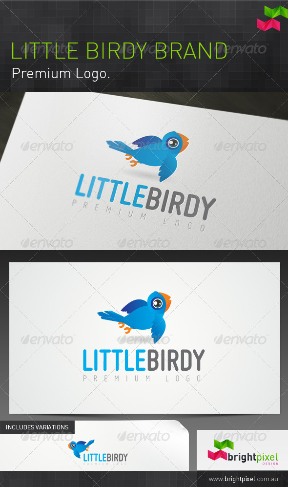 Little Birdy Brand - Animals Logo Templates