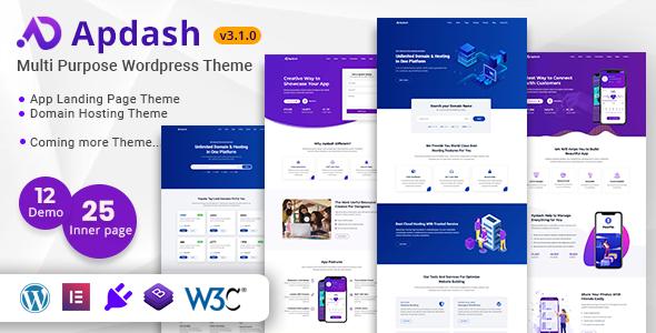 Apdash – Multi-Purpose WordPress Theme