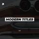 Modern Titles | DaVinci Resolve - VideoHive Item for Sale