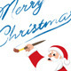 Santa – Painter - GraphicRiver Item for Sale