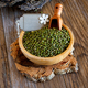 green azuki beans on wooden table - PhotoDune Item for Sale