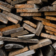 Piles of old wooden boards in the sawmill, planking. Wood timber stack of wooden blanks construction - PhotoDune Item for Sale
